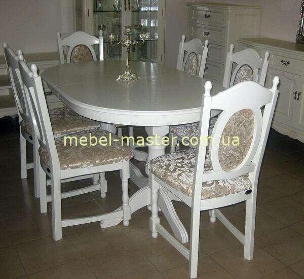 Стол обеденный Селена со стульями . Стиль Прованс.