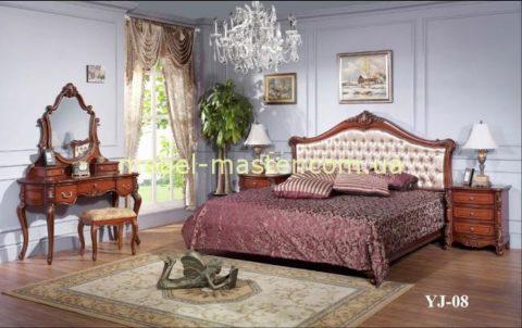 Классическая мебель для спальни Роял 108 со скидкой