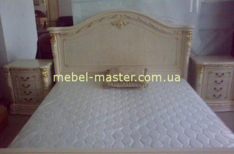 Классическая белая спальня из массива натурального дерева Карпентер 208