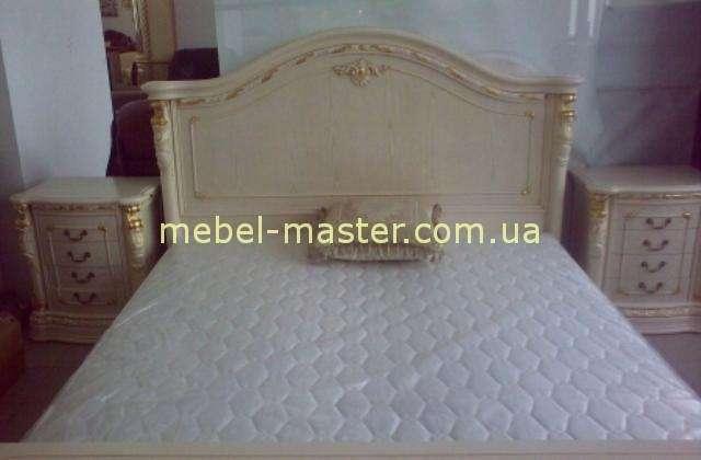 Белая спальня из массива натурального дерева Карпентер 208
