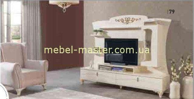 Белая мебель в гостиную Роза