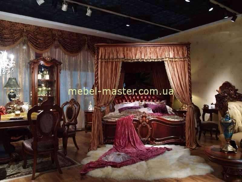 Кровать Карпентер 228 с балжахином