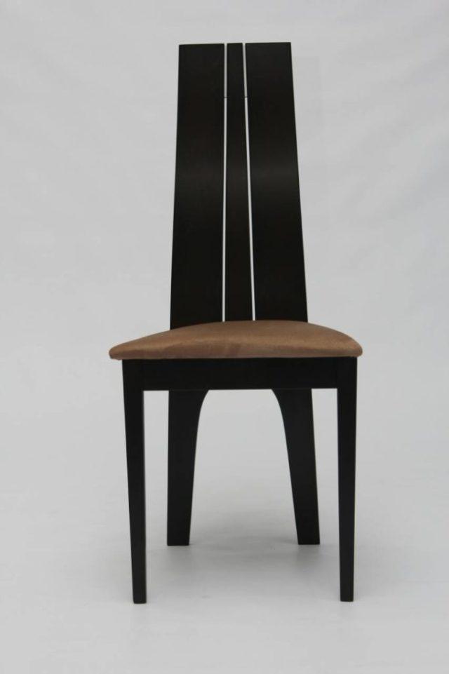 Модерновый стул в цвете венге 2408 из массива натурального дерева