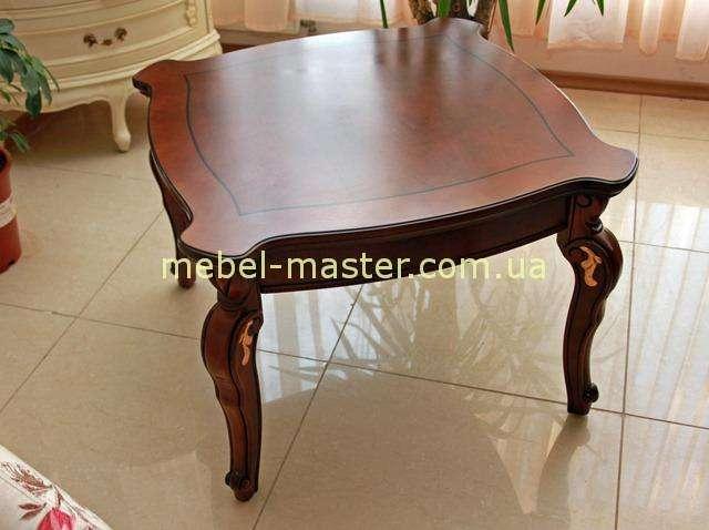 Классический квадратный приставной чайный столик Карпентер 201