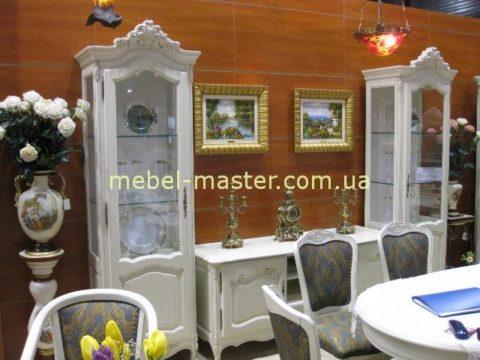 Белый классический мебельный гарнитур Могадор