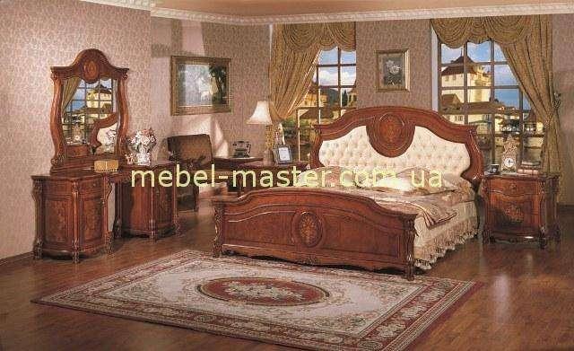 Кровать с мягким изголовьем Каса Деко