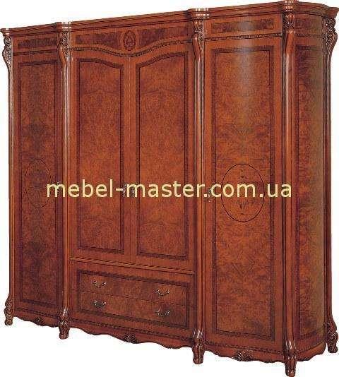 Четырехдверный шкаф Валенсия из массива. Каса Деко