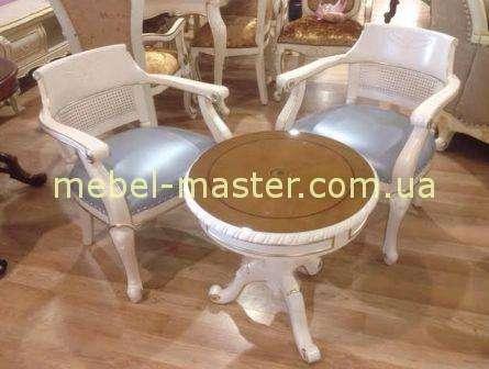 Белый набор чайной мебели Техас