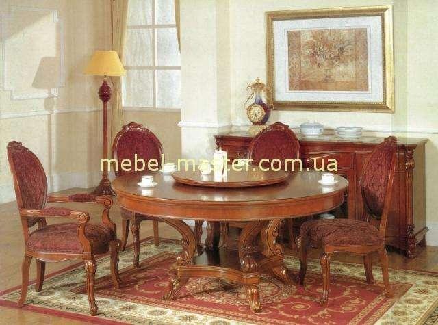Классический стол с надстройкой Карпенткр 201. Цвет орех