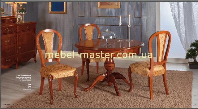 Обеденный круглый стол Эль греко