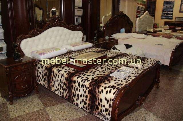 Коричневая кровать Беатриче 8675