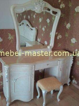 Белый туалетный стол Лукреция