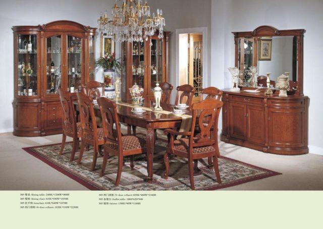Не дорогая мебель классическая мебель в гостиную 305