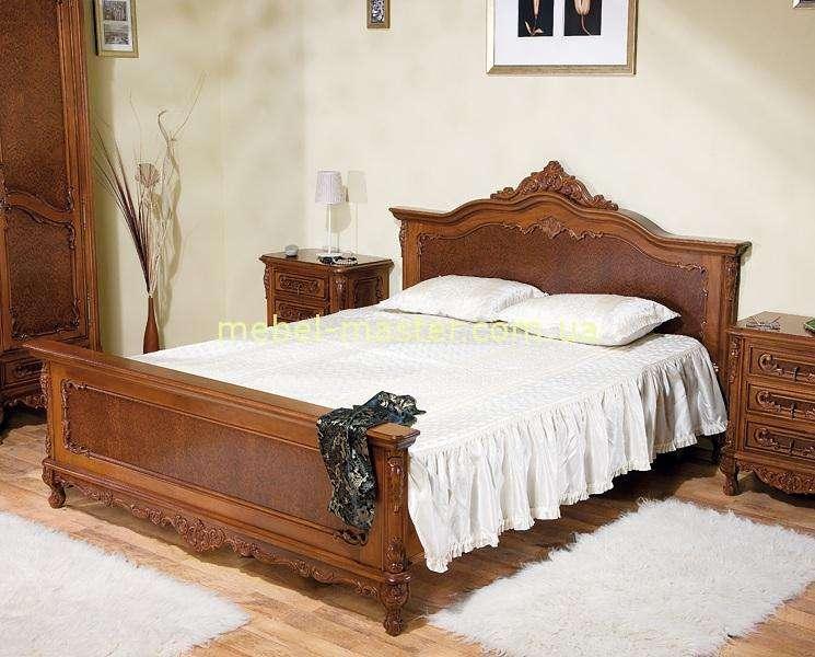 Резная кровать из массива Клеопатра. SIMEX