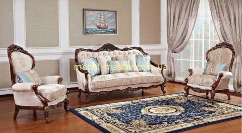 Классический мягкий комплект мебели Айвенго