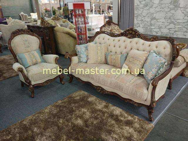 Мягкий диван с креслами Айвенго. Беллини.