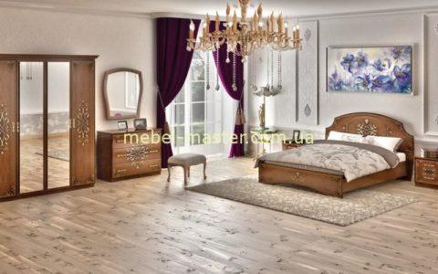 Недорогая классическая мебель для спальни Ницца
