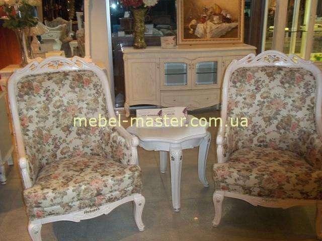 Маленькие кресла для отдыха со столиком Карпентер 108