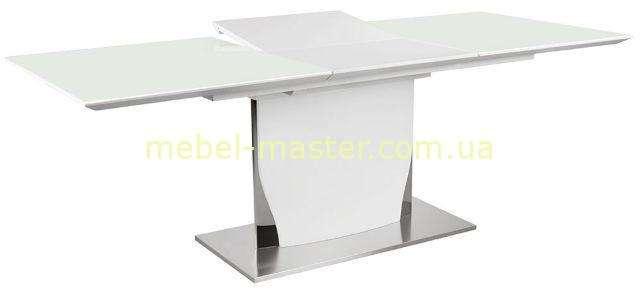 Раскладной глянцевый стол Космо из МДФ