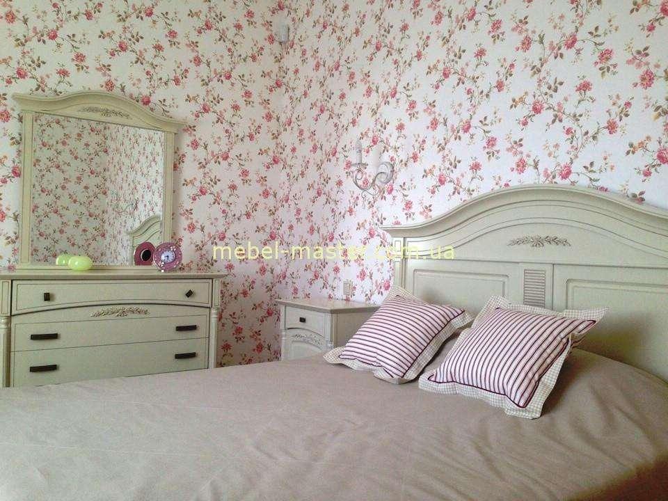 Белая классическая спальня Анна