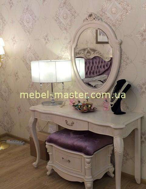 Белый туалетный столик в спальню Карпентер 230