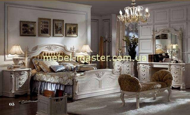 Белая мебель для спальни Карпентер 223, Испания