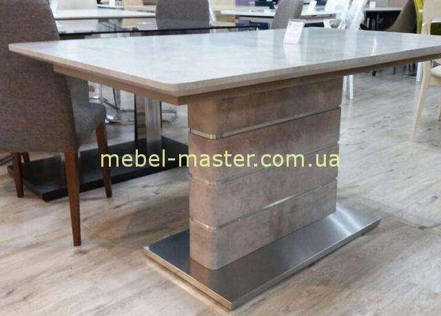 Стильный стол Мираж в расцветке ирамор.