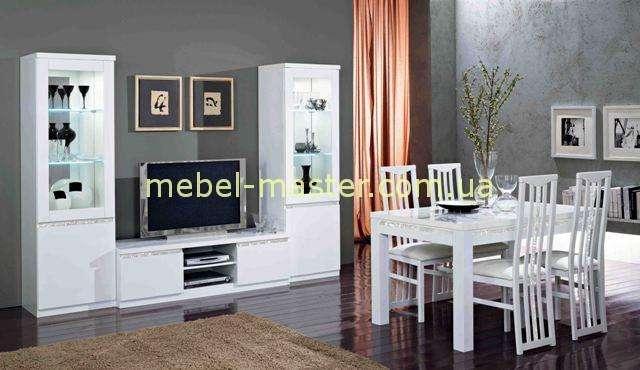 Белая мебель в стиле модерн Рома. Италия