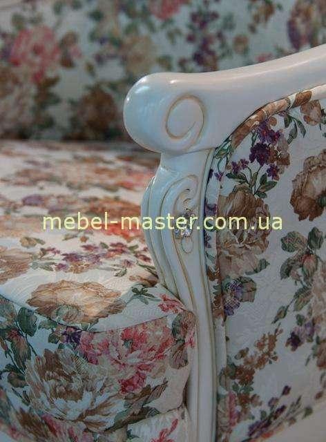 Ткани и отделки дивана Карпентер 108 в стиле Прованс