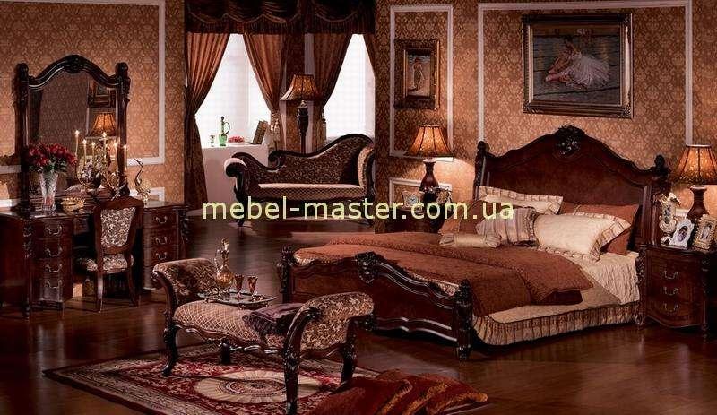 Коричная кровать 1800 с твердым изголовьем Карпентер 220