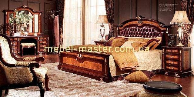 Кровать с круглым изголовьем в стиле капитоне Карпентер 216