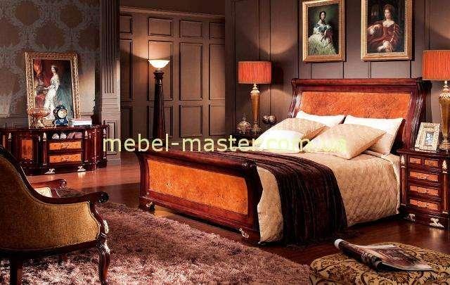 Кровать с прямым изголовьем Карпентер 216, Испания