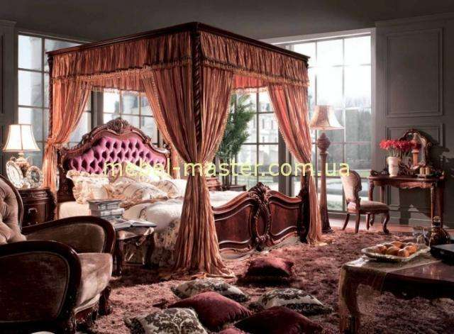 Элитная мебель в цвете орех Карпентер 228