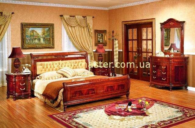 Дорогая кровать А с мягким кожаным изголовьем Карпентер 221, Испания
