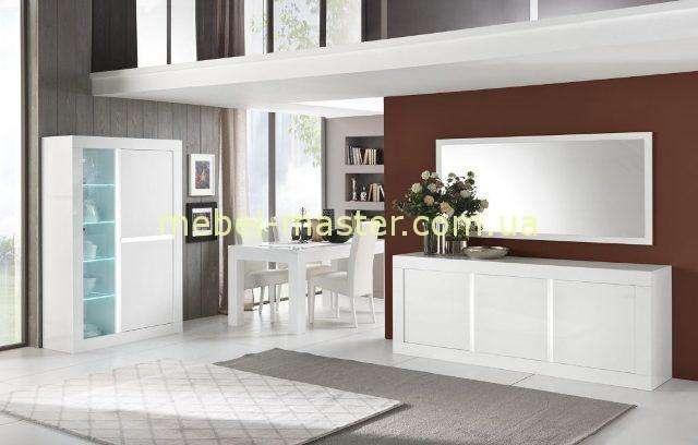 Белый буфет в гостиную NEOS, MOBILIFICIO
