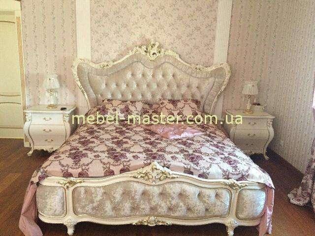 Белая резная кровать Шампань, Малайзия