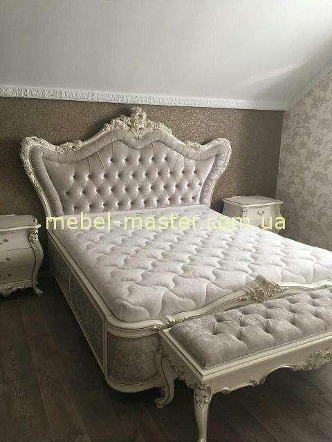 Красивая дорогая кровать Шампань, ENIGMA