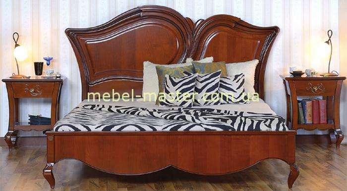 Кровать Капри с твердым изголовьем без вензеля
