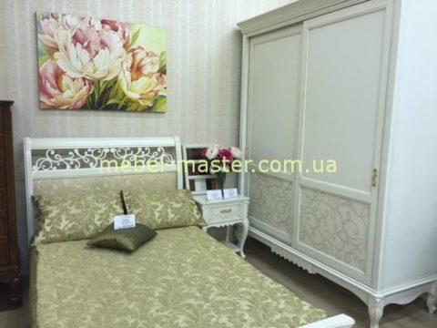 Деревянный белый мебельный гарнитур Матео, Румыния