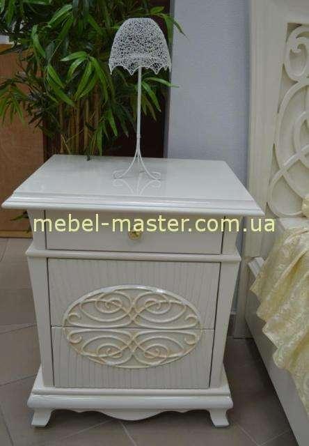 Белая резная спальня Аврора, Китай