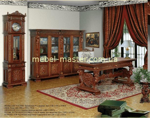 Мебель для кабинета Итальянский ренессанс, Мобекс