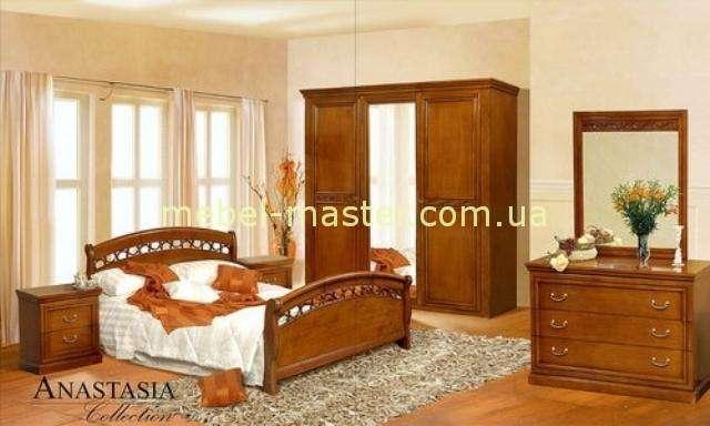 Классический мебельный гарнитур для спальни Анастасия, Мобекс