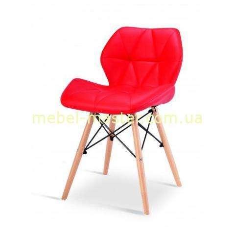 Красный стул обеденный из эко-кожи ь DS-926 AXEL