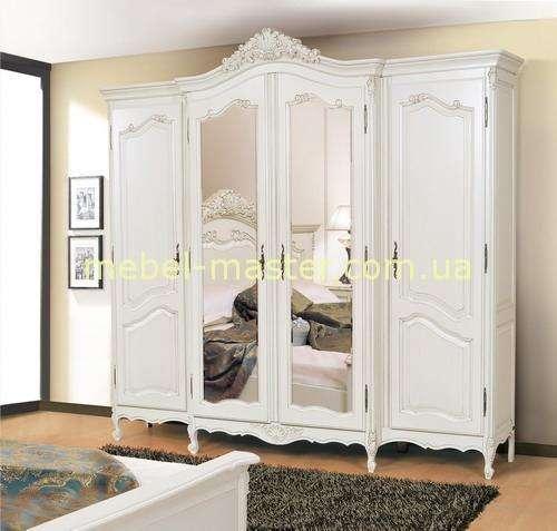 Шкаф для одежды на четыре двери в спальню Могадор, Румыния