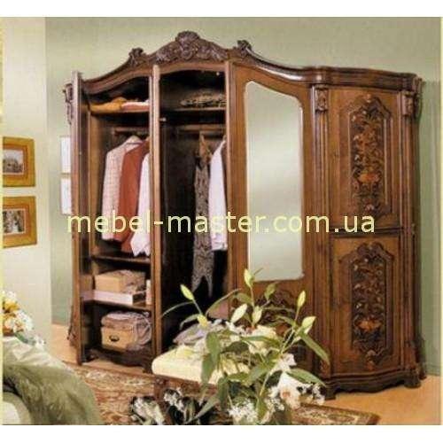 Шкаф на 5 дверей в спальню Юлиана