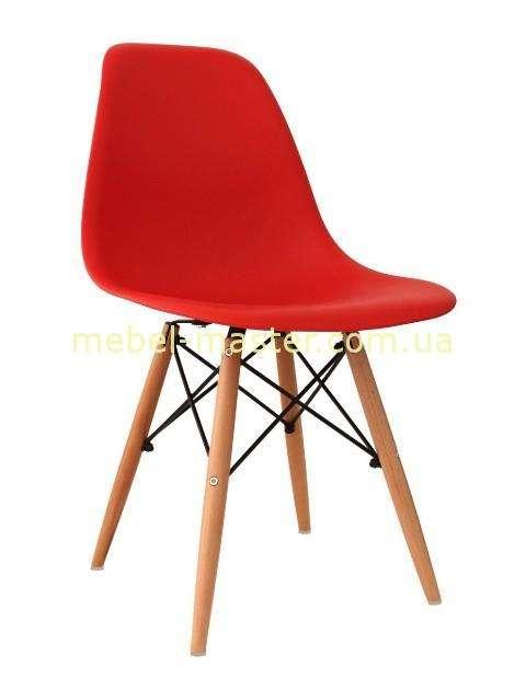 Красный стул из пластика DS-913 ENZO, Китай