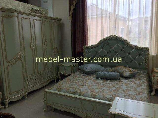 Комплект мебели для спальни Люсиль в оливковом цвете . Прованс