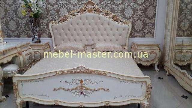Резная кровать в золоте Лайма, Аванти