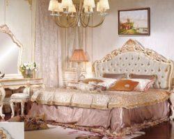 Недорогая резная мебель для спальни в стиле барокко Лайма, Аванти