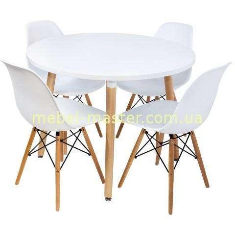 Набор белой мебели для кухни или гостиной